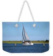 Sailing At Masonboro Island Weekender Tote Bag