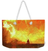 Sailing Away From The Sun Weekender Tote Bag
