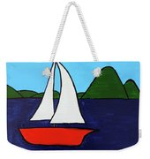 Sailing Away Weekender Tote Bag