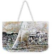 Sailing Boat, Nautical,yachts, Seascape Weekender Tote Bag