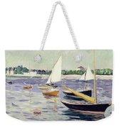 Sailing Boats At Argenteuil Weekender Tote Bag