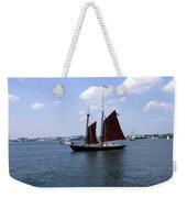 Sailing Boston Weekender Tote Bag