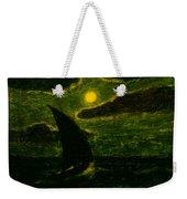 Sailing By Moonlight Weekender Tote Bag