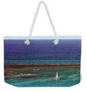 Sailing Day Weekender Tote Bag by Karen Zuk Rosenblatt