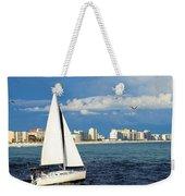 Sailing Destin, Fl Weekender Tote Bag