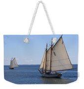 Sailing Downeast Weekender Tote Bag