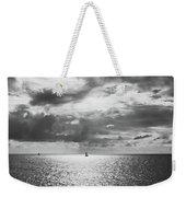 Sailing Dreams Black And White Weekender Tote Bag