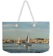 Sailing In Lisbon Portugal Weekender Tote Bag
