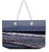 Sailing In Santa Monica Weekender Tote Bag