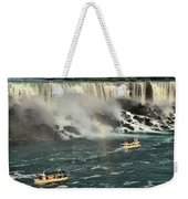 Sailing Into The Mist Weekender Tote Bag