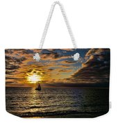 Sailing Into The Sun Weekender Tote Bag