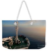 Sailing Into The Unknown... Weekender Tote Bag