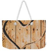 Sailing Love With No Strings Attached Weekender Tote Bag
