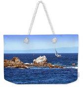 Sailing Monterey Bay Weekender Tote Bag