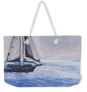 Sailing Off Cape May Point Weekender Tote Bag