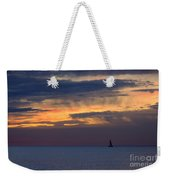 Sailing On A Paint Brush Weekender Tote Bag