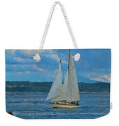 Sailing On A Summer Day Weekender Tote Bag