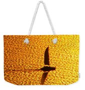 Sailing On Gold Weekender Tote Bag