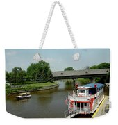 Sailing On The Cass Weekender Tote Bag