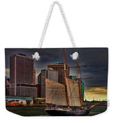 Sailing On The East River Weekender Tote Bag
