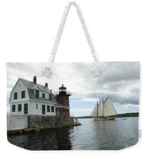 Sailing Out Weekender Tote Bag