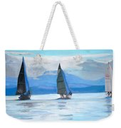 Sailing Race Weekender Tote Bag