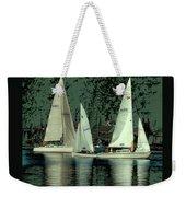 Sailing Reflections Weekender Tote Bag