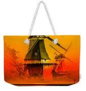 Sailing Romance Windmills Weekender Tote Bag