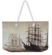 Sailing Ships Weekender Tote Bag