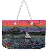 Sailing South Lake Union Weekender Tote Bag