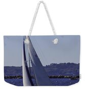 Sailing Stonington Harbor Weekender Tote Bag