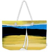 Sailing Sunset Weekender Tote Bag