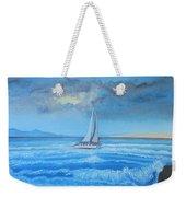 Sailing Through The Storm Weekender Tote Bag
