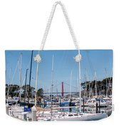 Sailing To The Golden Gate Weekender Tote Bag
