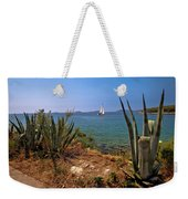 Sailing Waterfront Of Prvic Island View Weekender Tote Bag