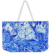 Sailing With Friends Weekender Tote Bag