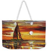 Sailing With The Sun Weekender Tote Bag