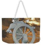 Sailor In Coming Storm Weekender Tote Bag