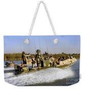 Sailors Racing Along The Euphrates Weekender Tote Bag