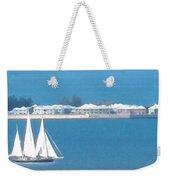 Sails In Bermuda Weekender Tote Bag
