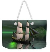 Sailship In The Night Weekender Tote Bag
