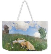 Saimi In The Meadow Weekender Tote Bag