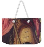 Saint Alexander A Panel From The Altarpiece The Nativity With Saints Weekender Tote Bag