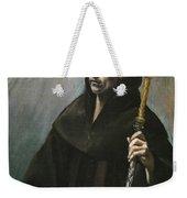 Saint Benedict Weekender Tote Bag