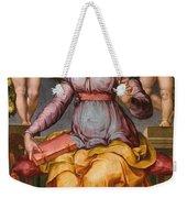 Saint Catherine Of Alexandria Crowned By Two Angels Weekender Tote Bag