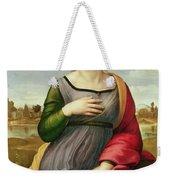 Saint Catherine Of Alexandria Weekender Tote Bag by Raphael