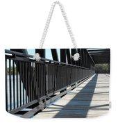 Saint Charles Walking Bridge Weekender Tote Bag