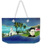 Saint Damien And Molokai #257 Weekender Tote Bag