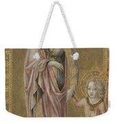 Saint Dorothy And The Infant Christ Weekender Tote Bag