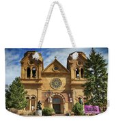 Saint Francis Cathedral Weekender Tote Bag